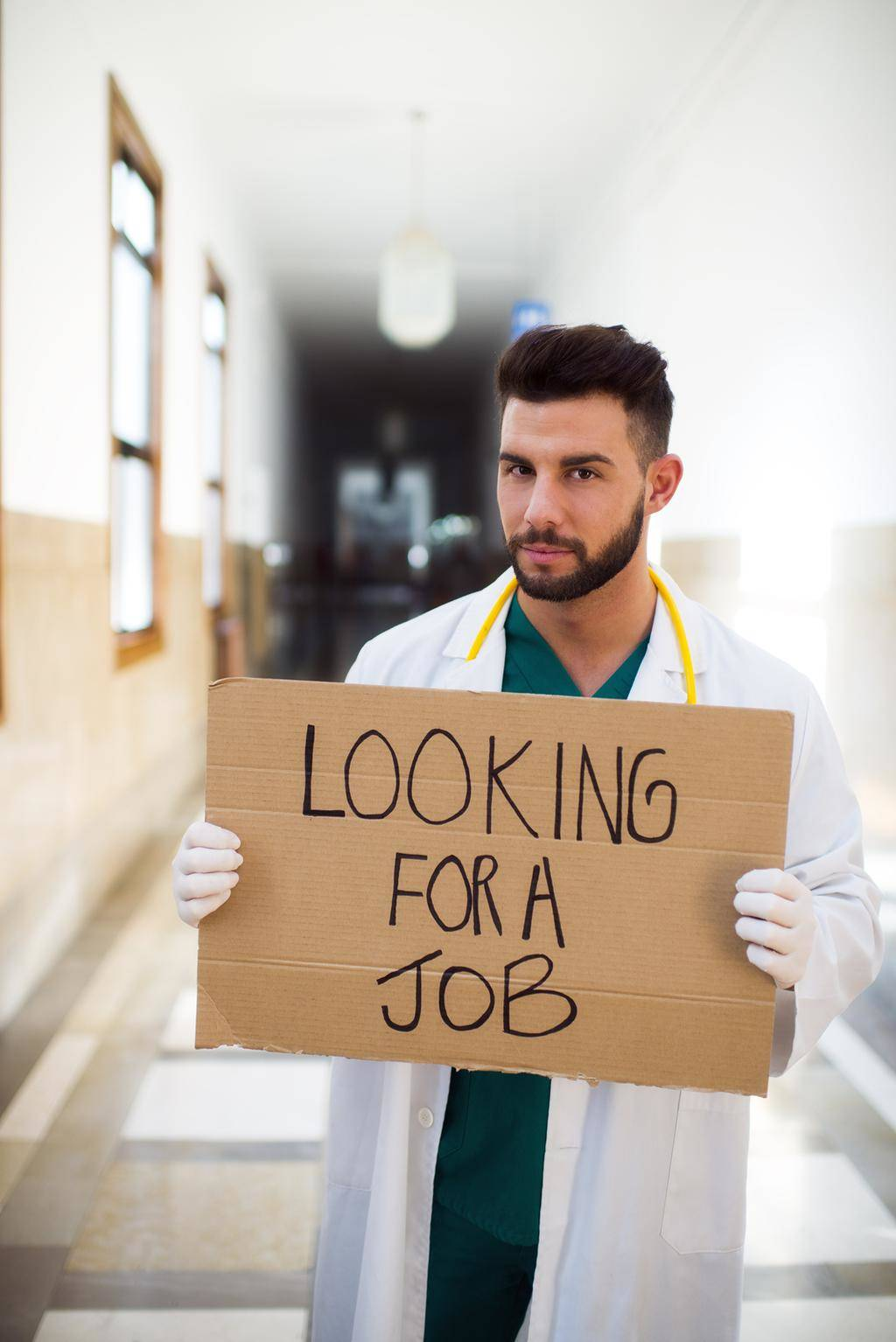 doctor job jobs cna unemployed physician sign holding young cnaclassesnearyou need certification visit near doctors general workers medical labor healthcare